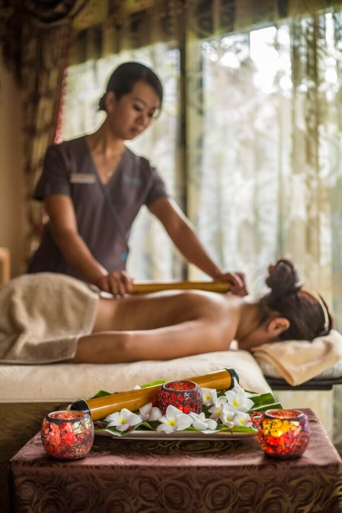 The spa at Sun Siyam Iru Fushi