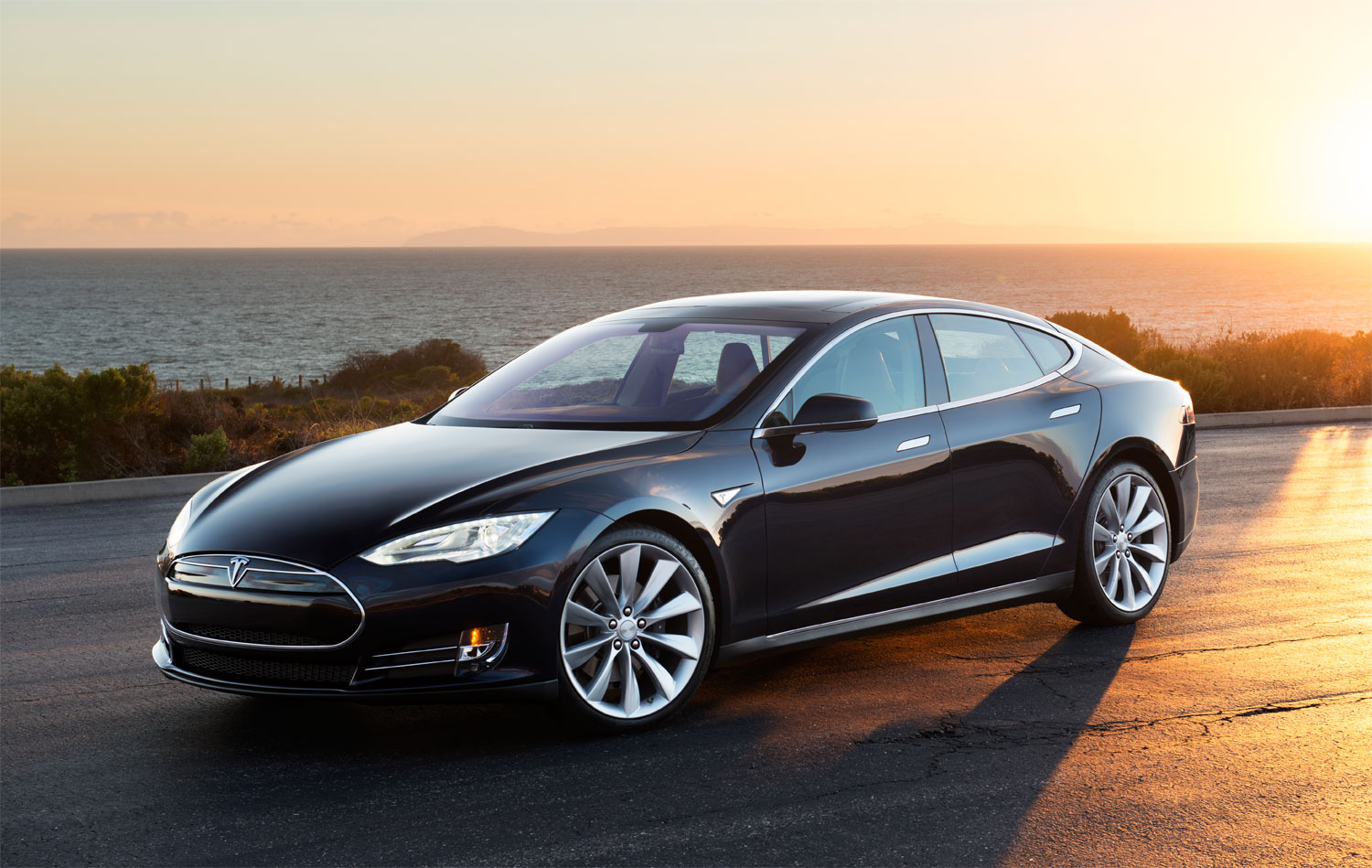 The oil companies used to think of electric cars as a joke – but thanks to the Tesla Model S, they're not laughing now