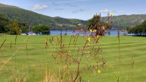 The beautiful countryside around Ullswater Lake