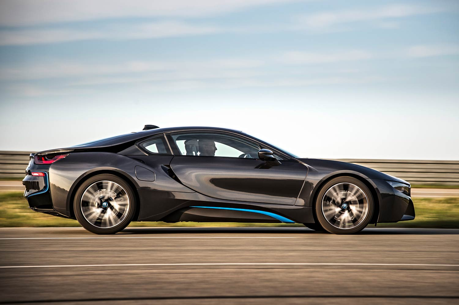 A thousand wows an hour - and 134 miles per gallon - in the super-sexy hybrid BMW i8 28