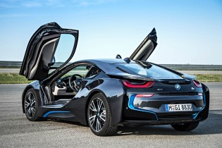 A thousand wows an hour - and 134 miles per gallon -  in the super-sexy hybrid BMW i8 22