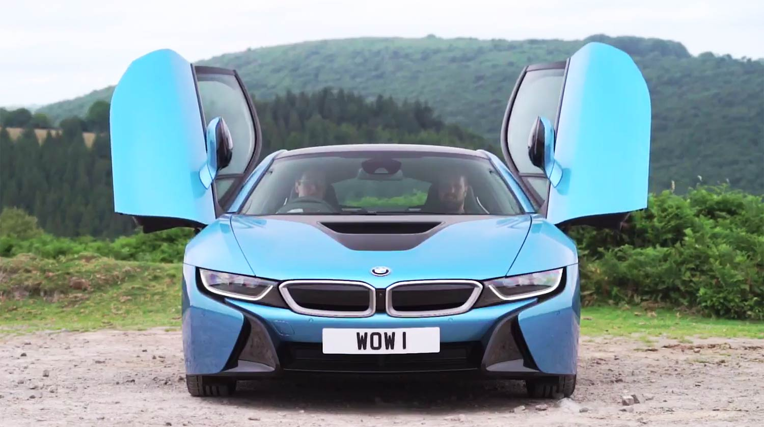 A thousand wows an hour - and 134 miles per gallon -  in the super-sexy hybrid BMW i8 23
