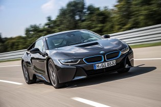 A thousand wows an hour - and 134 miles per gallon - in the super-sexy hybrid BMW i8 24