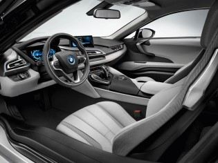 A thousand wows an hour - and 134 miles per gallon - in the super-sexy hybrid BMW i8 25