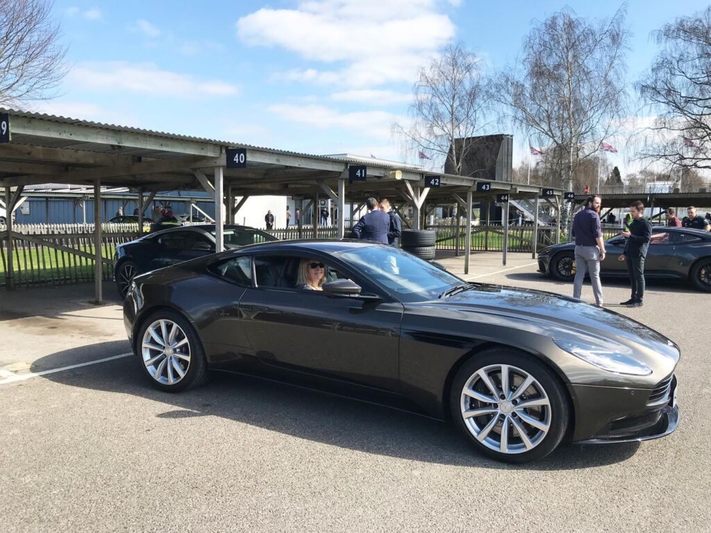 Gina Baksa has the Ride of Her Life Around The Track at Goodwood Motor Circuit 7