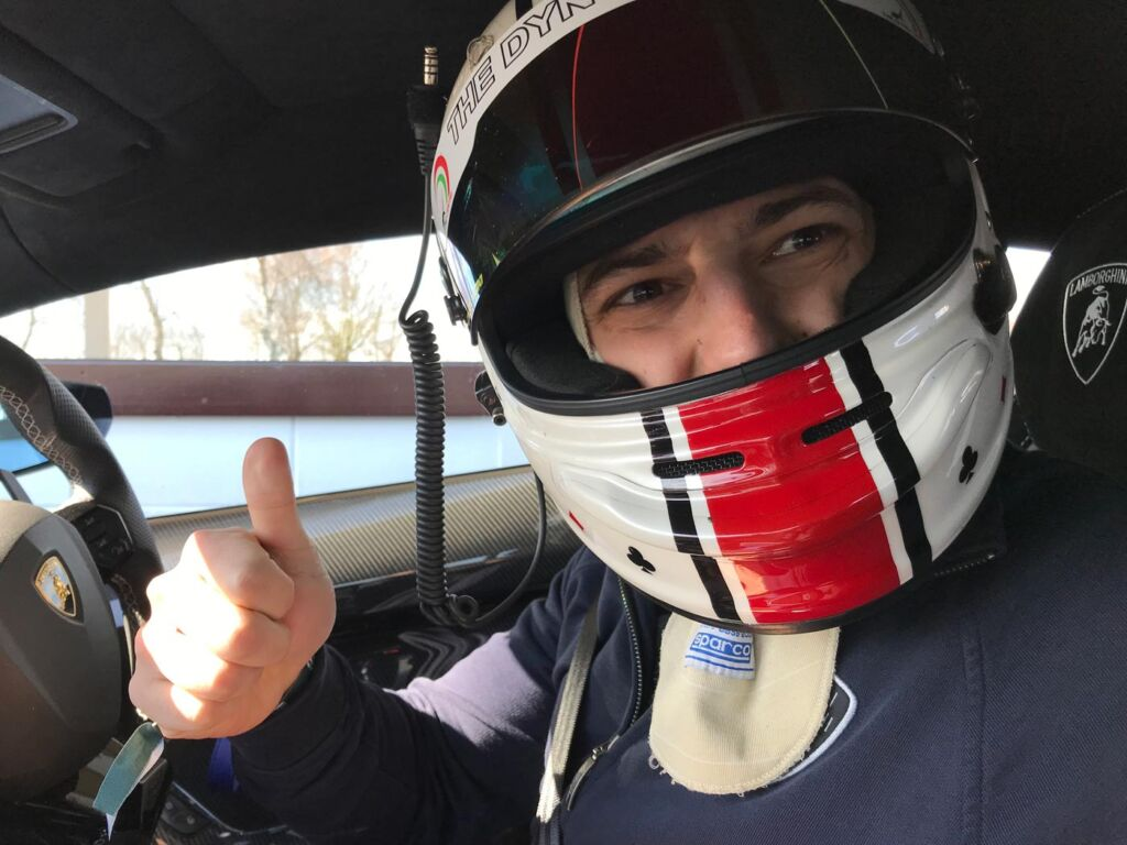 Gina Baksa has the Ride of Her Life Around The Track at Goodwood Motor Circuit 8