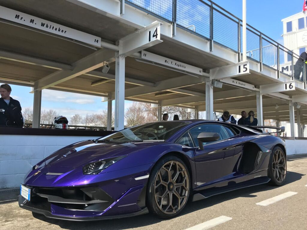 Gina Baksa has the Ride of Her Life Around The Track at Goodwood Motor Circuit 9