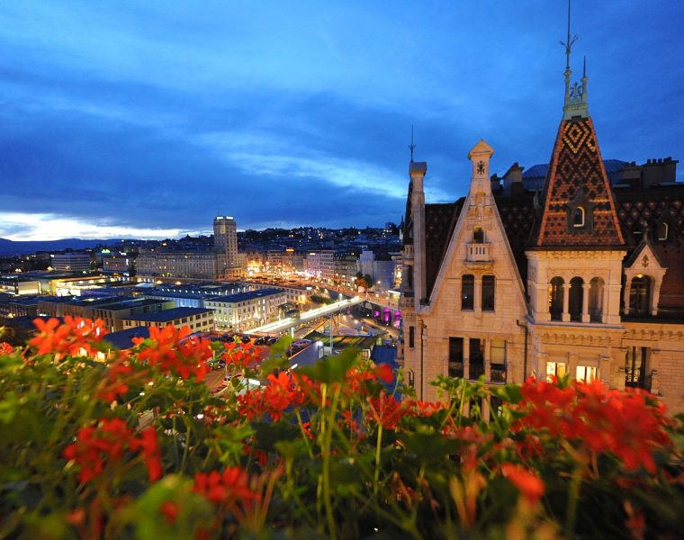 Celebrating Swiss National Day In the Luxurious City Of Lausanne