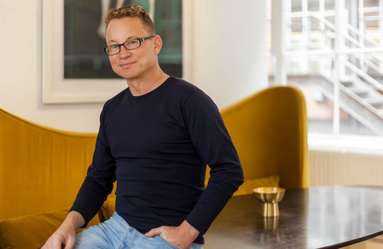 Mark Howarth, founder of London-based interior design studio Callender Howorth