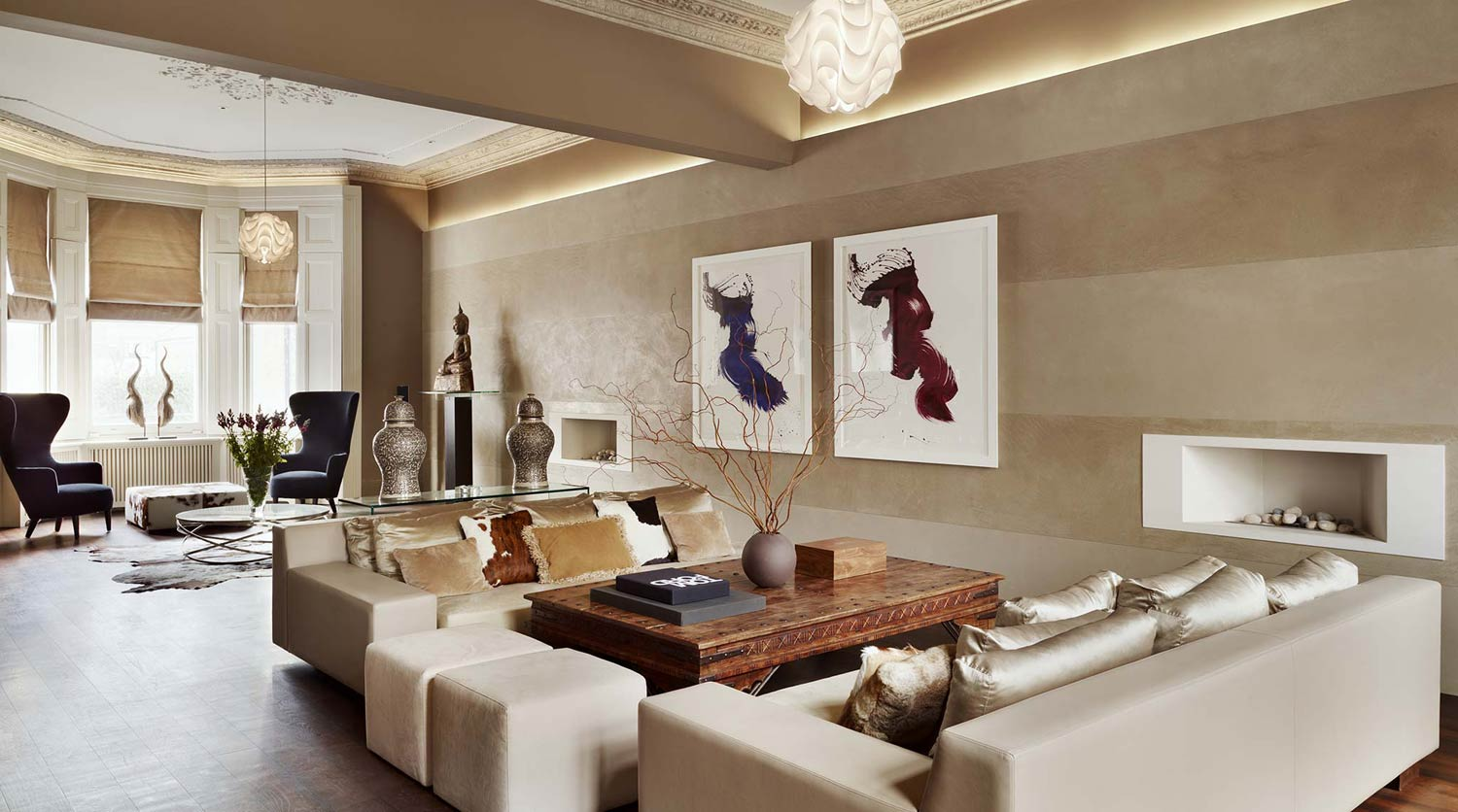 Luxurious magazine talks to mark howorth founder of for Interior designers based in london
