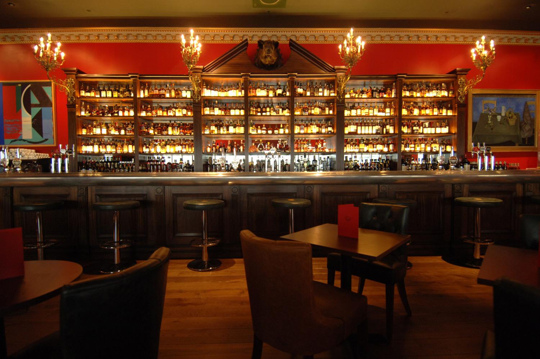 The Boisdale Whiskey Bar
