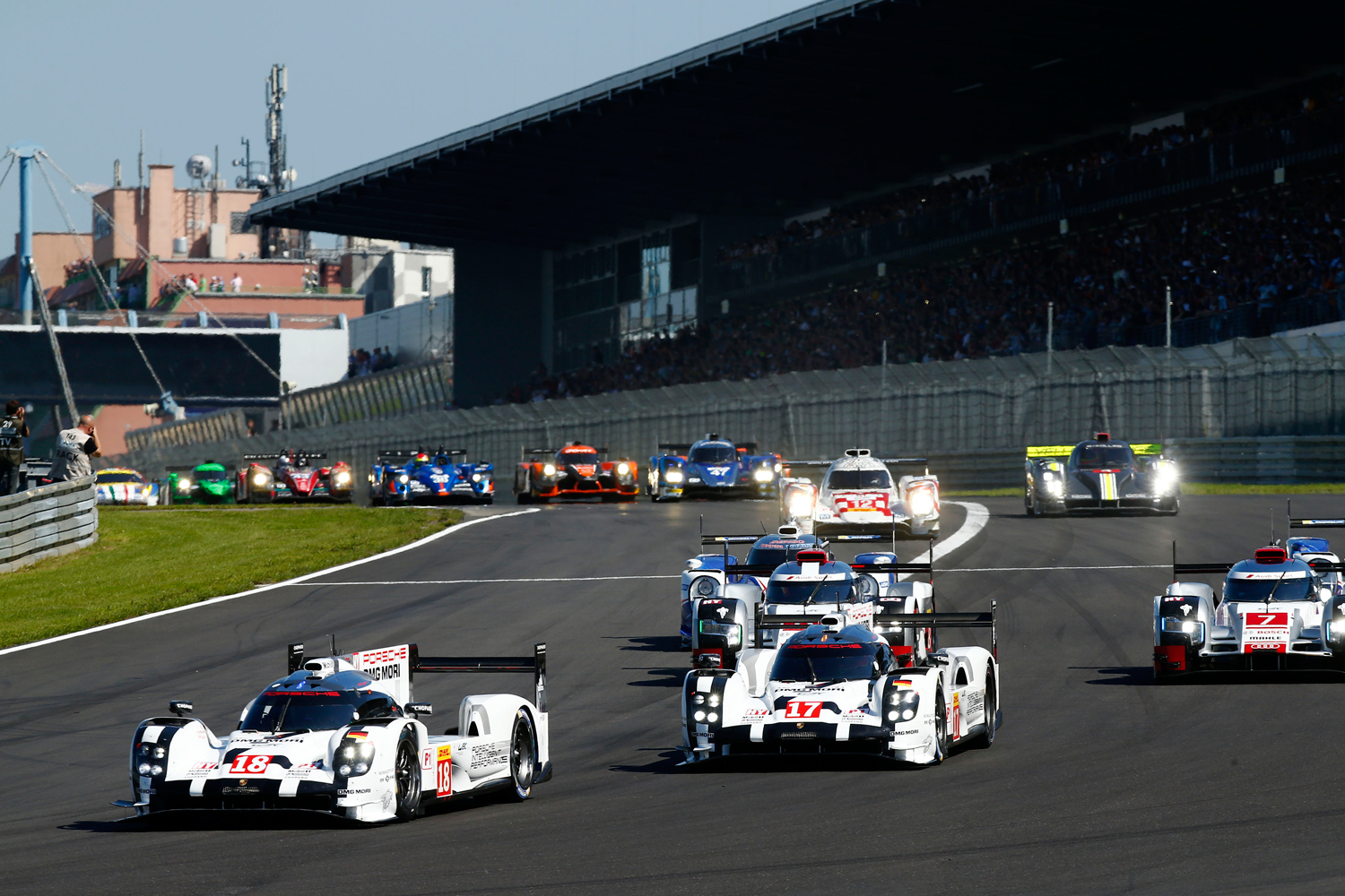 Porsche Motorsport dominates the 6 Hours of Nürburgring 2015 with a double victory 12