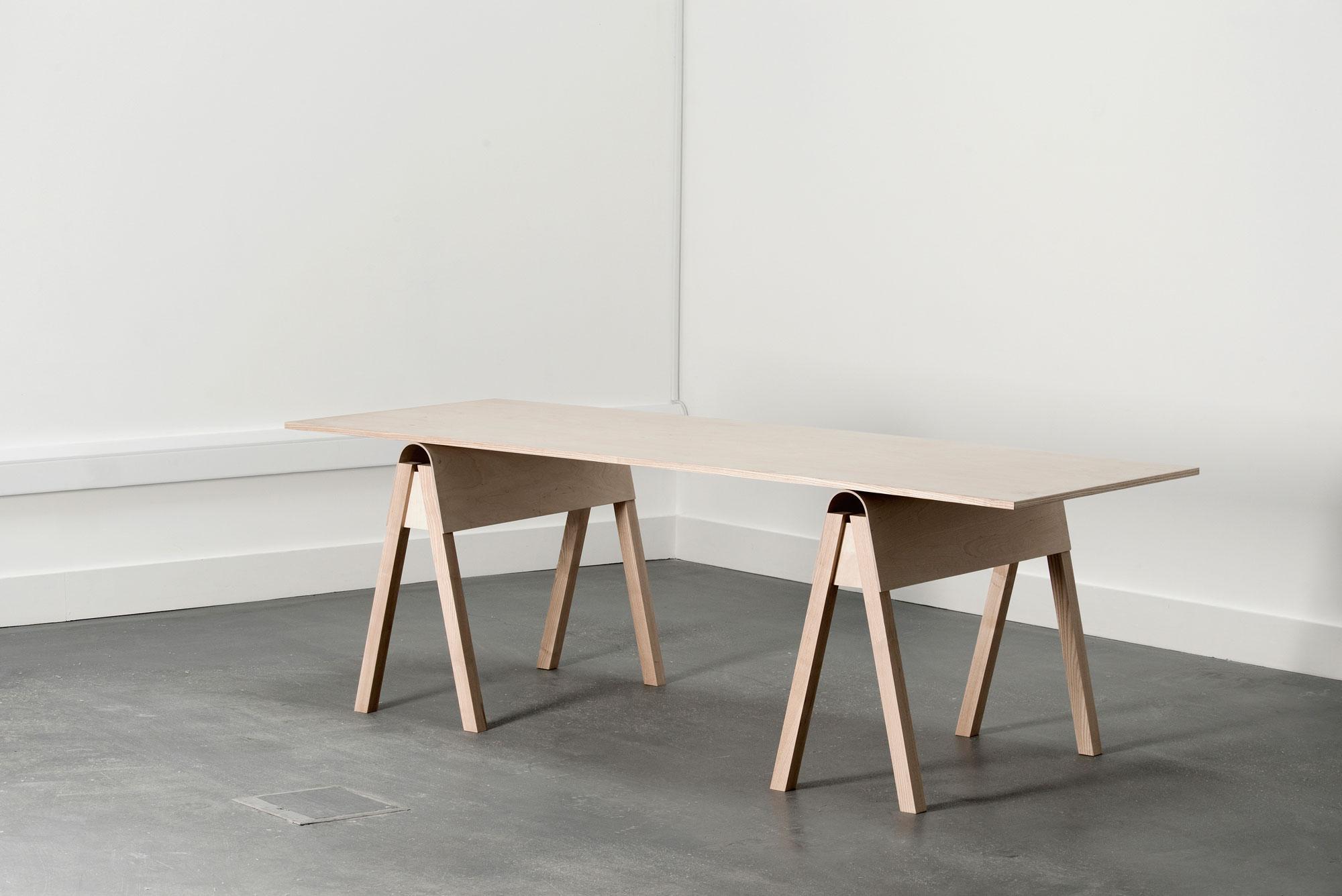 Aero Trestle Table, Catherine Aitken and David Murphy