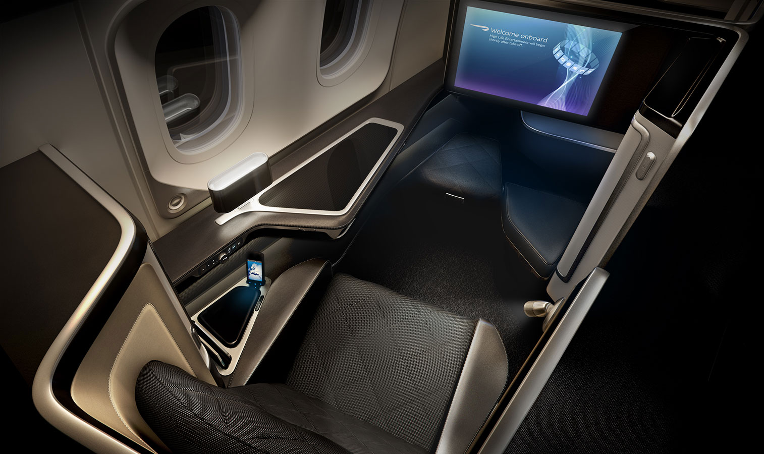 The new height of luxury is 50,000 feet thanks to British Airways' First Cabin 8