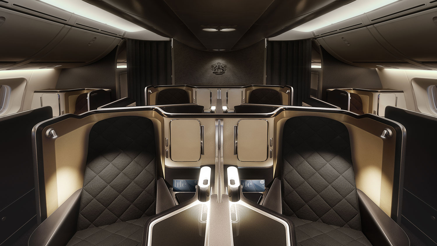 British Airways introduce the First Cabin on their new 787-9 Dreamliner