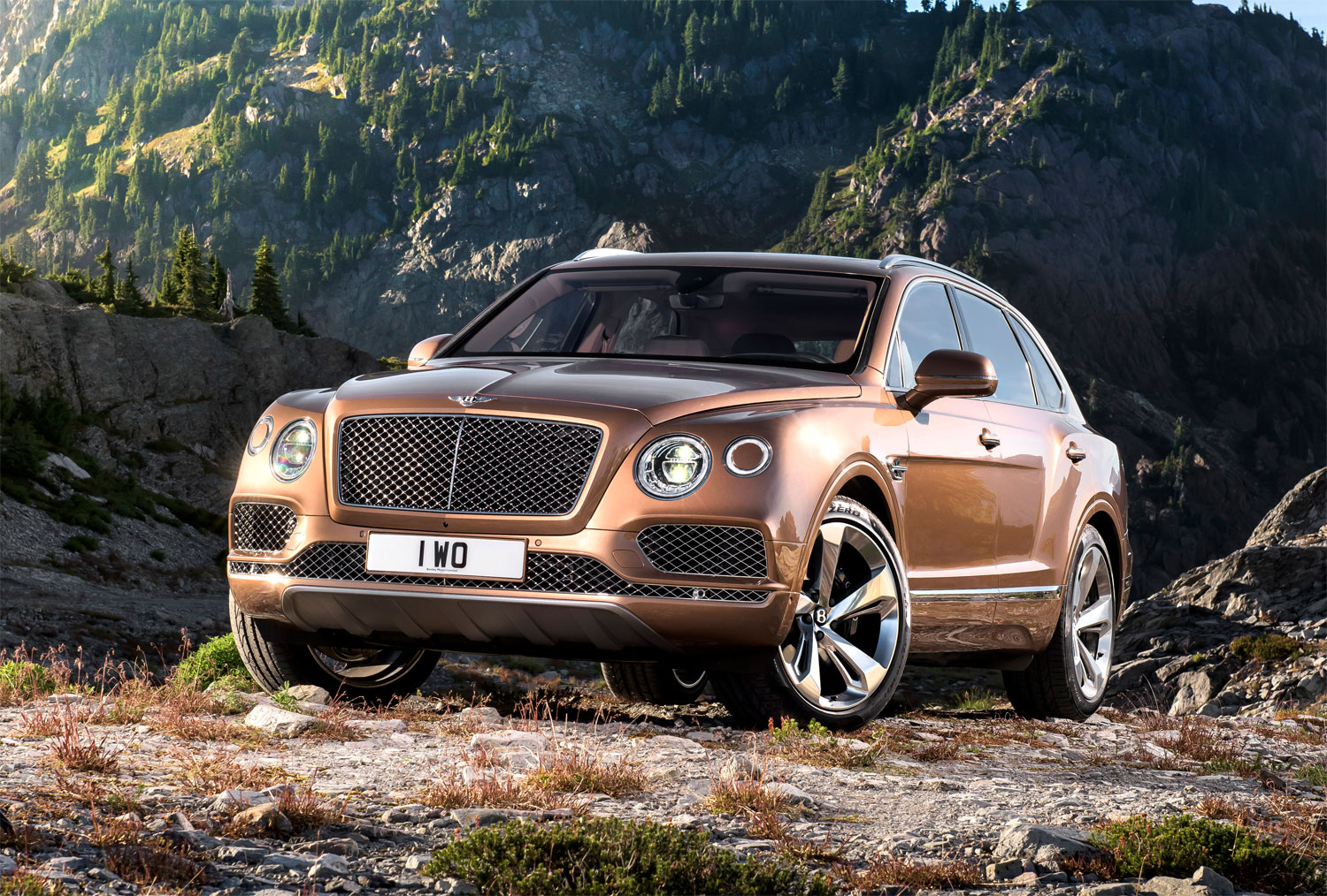 The extraordinary Bentley Bentayga