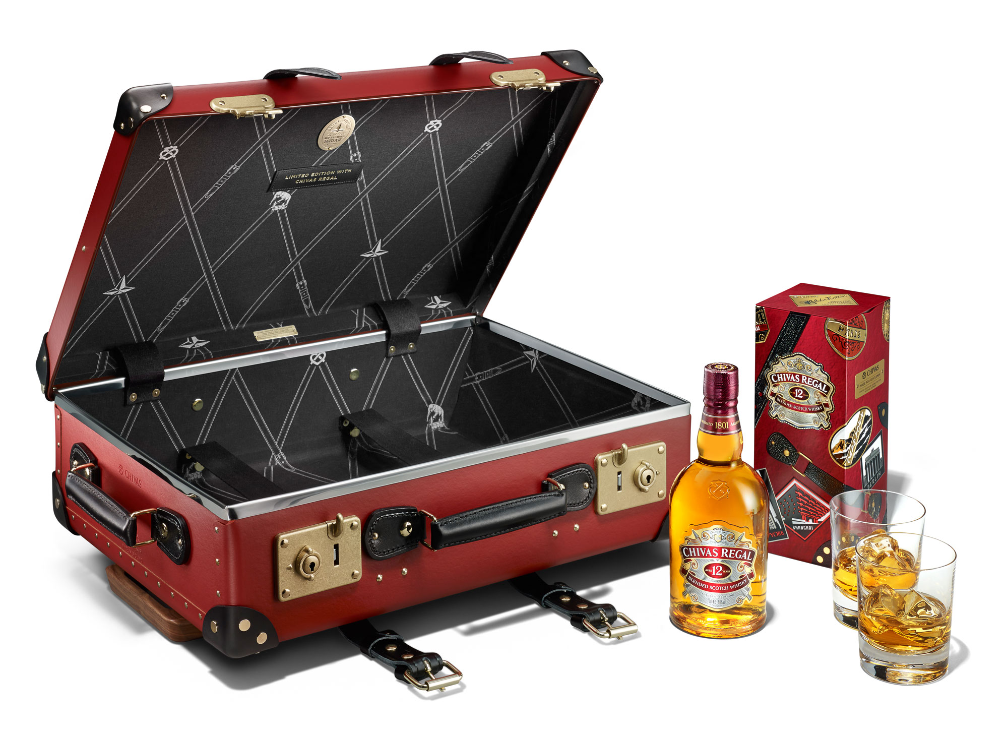 Chivas Regal 12 And Globe-Trotter Come Together For Limited Edition Collectibles