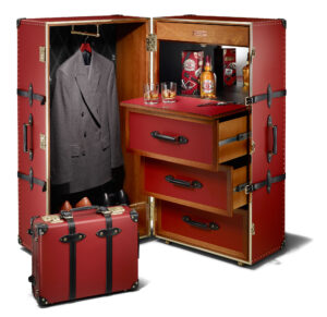 Chivas 12 'Made for Gentlemen' by Globe-Trotter Steamer Trunk