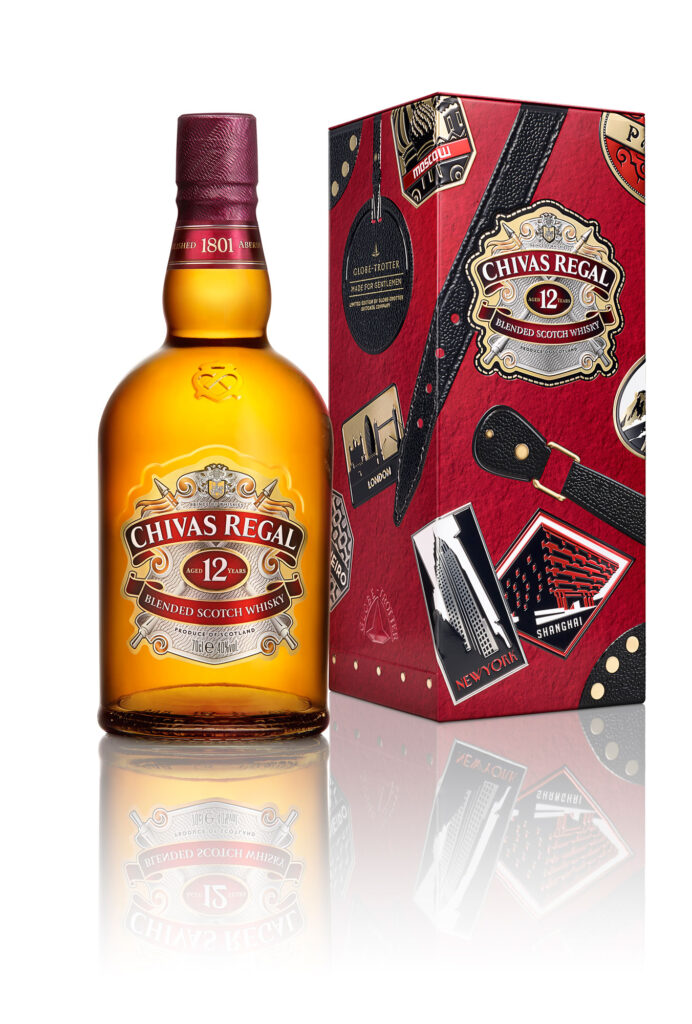 Chivas Regal 12 And Globe-Trotter Come Together For Limited Edition Collectibles 3