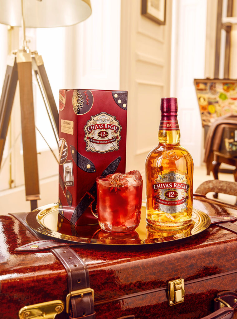Chivas Regal 12 And Globe-Trotter Come Together For Limited Edition Collectibles 4