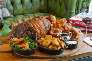 If you get your timing right, you might just be lucky enough to 'tuck' in to the Conrad London St James seasonal Sunday roast