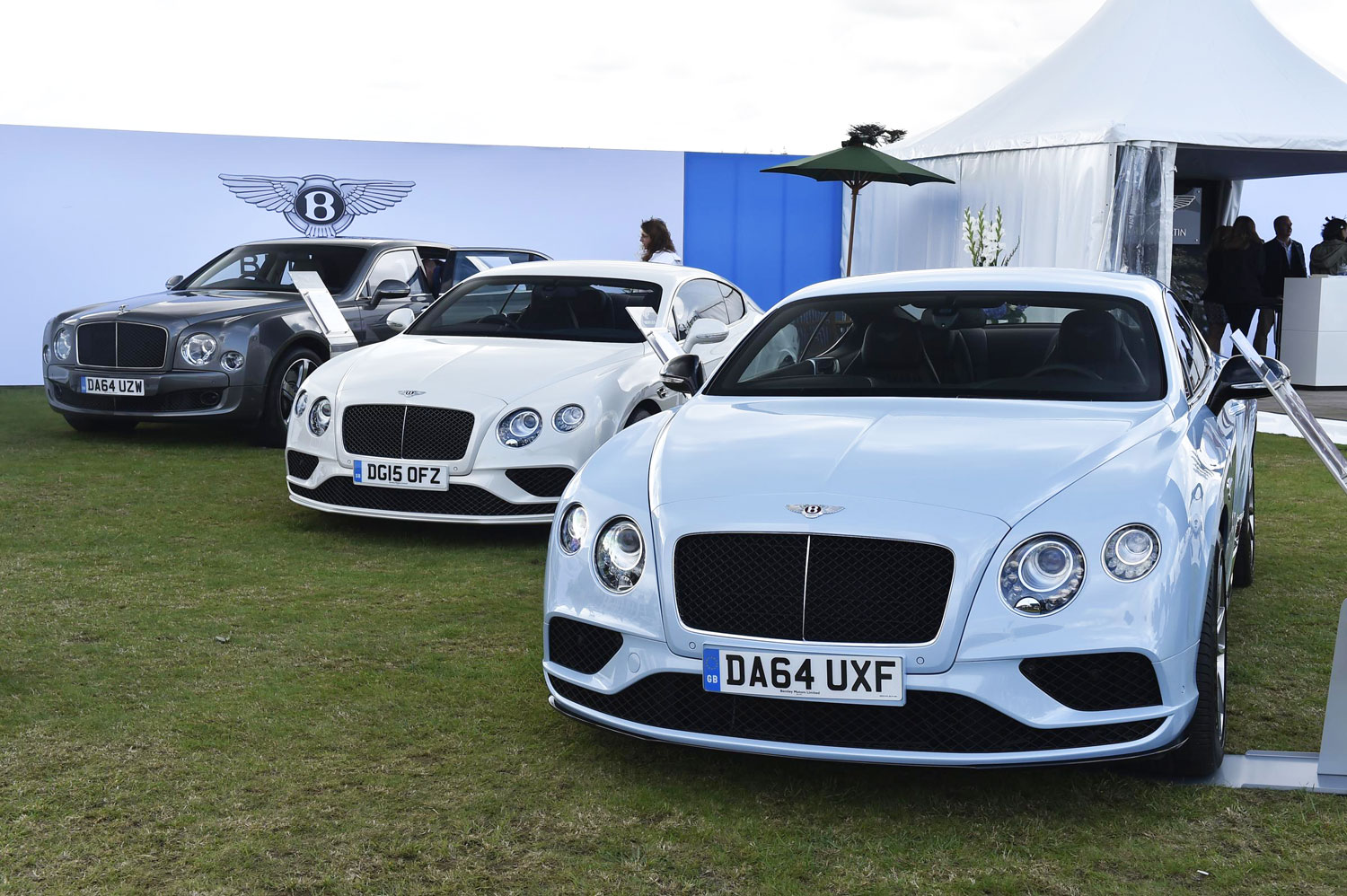 Some of the Bentley Motors at Salon Prive 2015