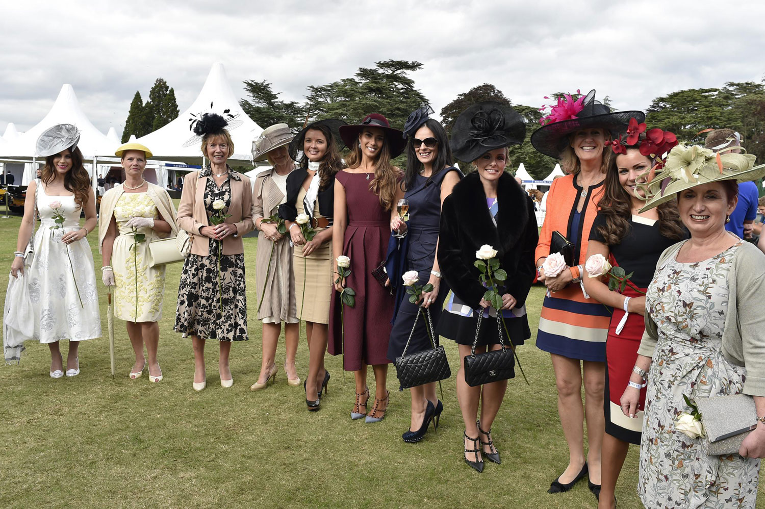 The ladies were in attendance at Salon Prive 2015
