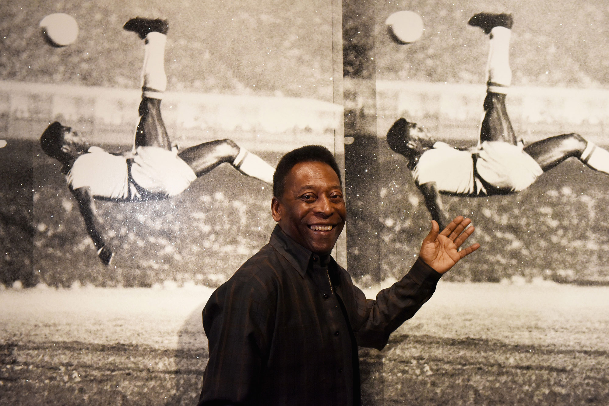 Pelé launches Art, Life, Football exhibition in London