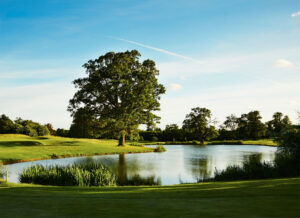 Hanbury Manor is set in 200 acres of picturesque parkland