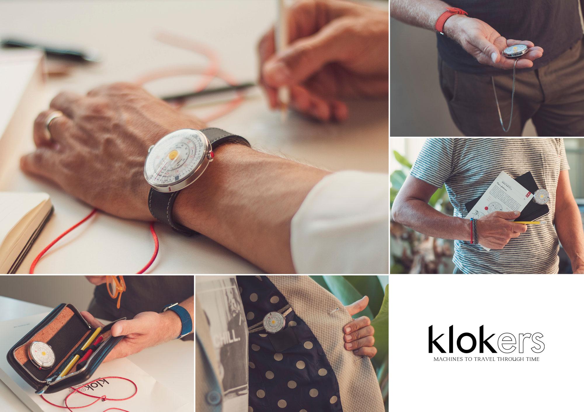 klokers: Machines to travel through time