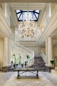 Walk into the vibrancy of Vietnam, sophistication in Milan, tranquility in Marrakech and nature in South Africa - These are a selection of great lobbies you can experience with the Leading Hotels of the World