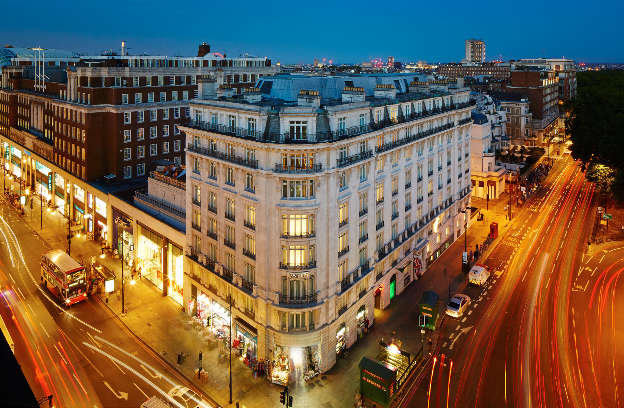 A Shining Star: The Jaunty Flâneur At The London Marriott Hotel Park Lane