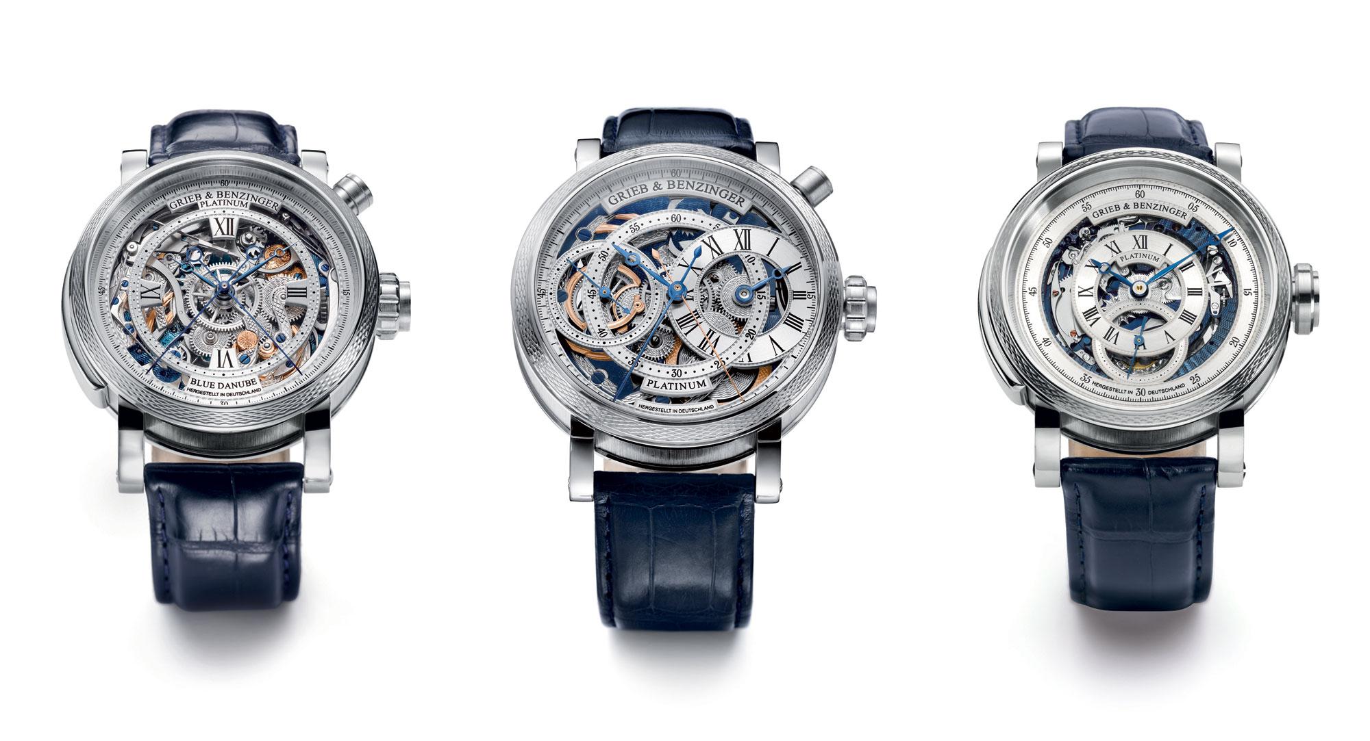 The Grieb & Benzinger platinum masterpieces
