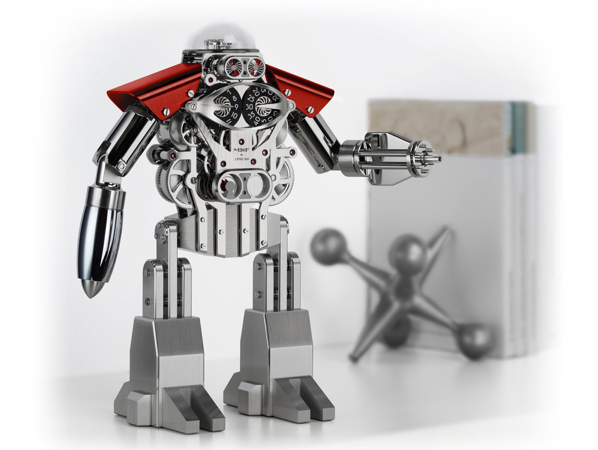Melchior Only Watch is a friendly robot best buddy with a mission to help and protect.
