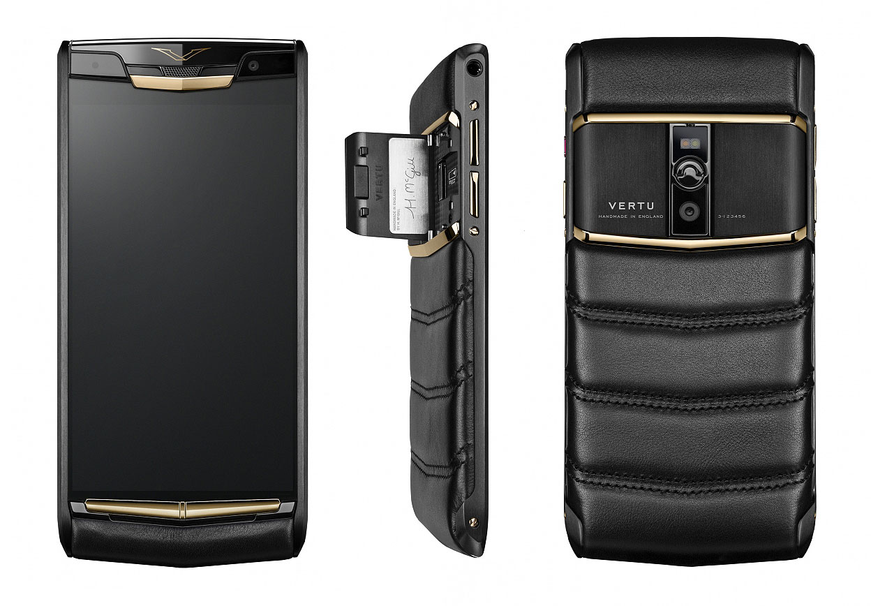 vertu launches new signature touch luxury phone. Black Bedroom Furniture Sets. Home Design Ideas