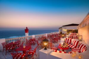 The Lighthouse Bar at the Oyster Box Hotel in Durban