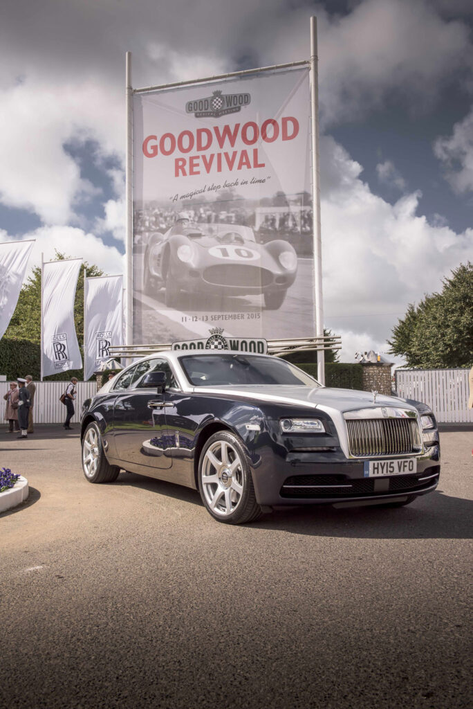 Rolls-Royce Motor Cars celebrated a record Goodwood Revival 4