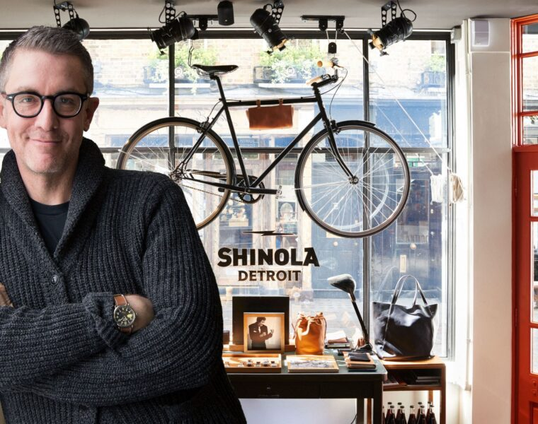 Luxurious Magazine Meets Daniel Caudill, Creative Director Of Shinola Detroit 1