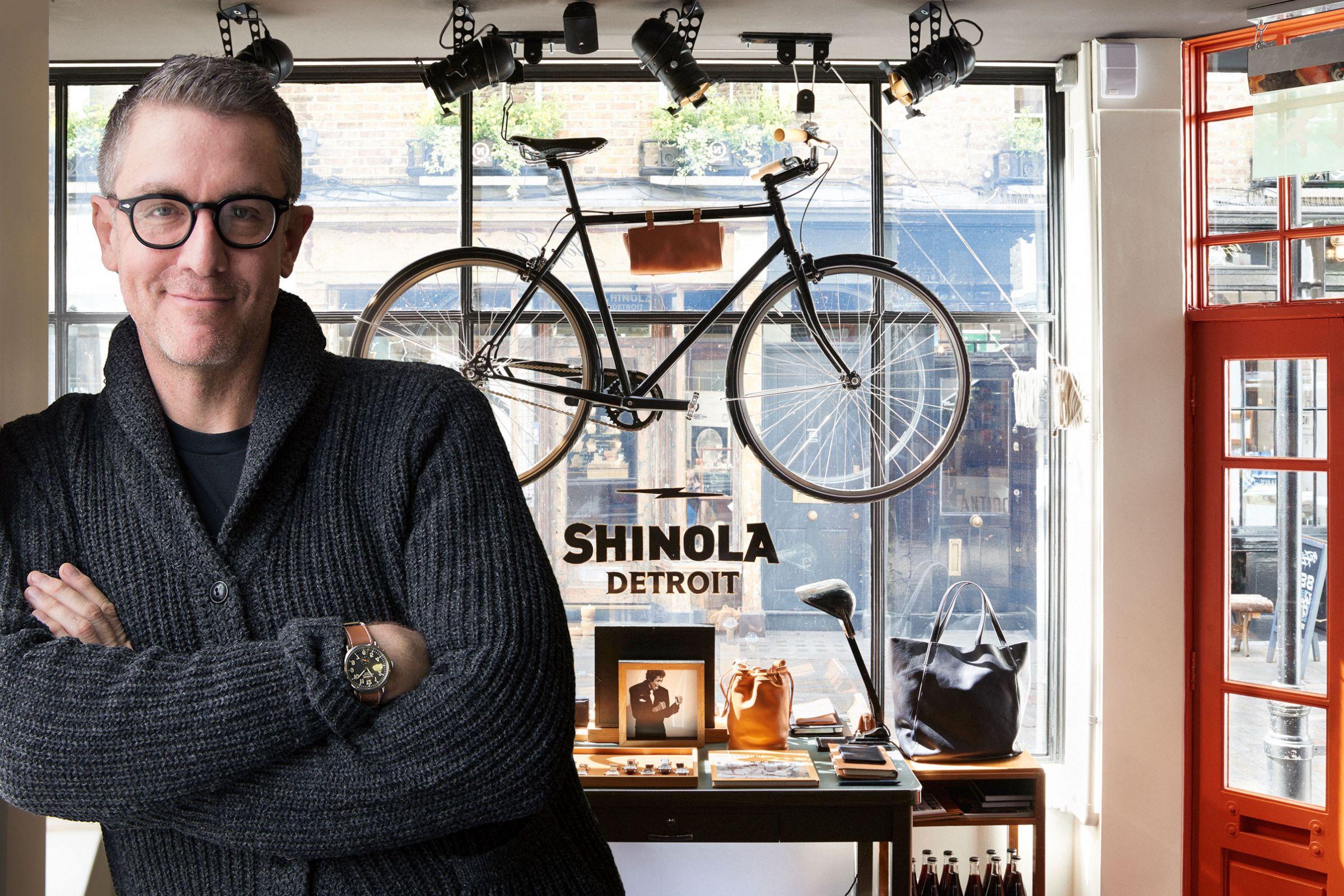 Daniel Caudill, Creative Director Of Shinola Detroit