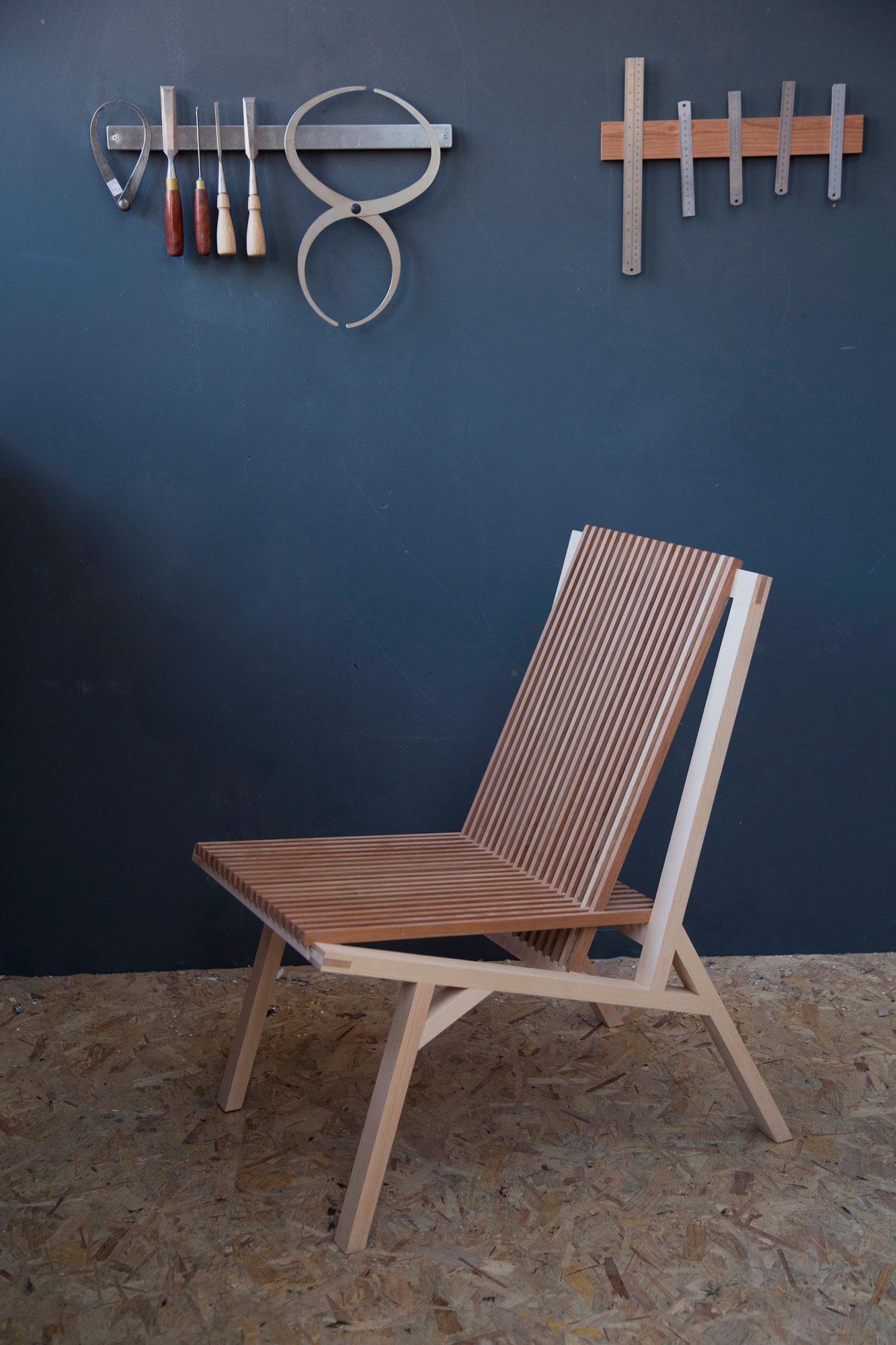 Slatted Chair, Emma Leslie