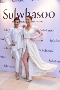 Malaysian celebrities at the Sulwhasoo Timetreasure Line launch