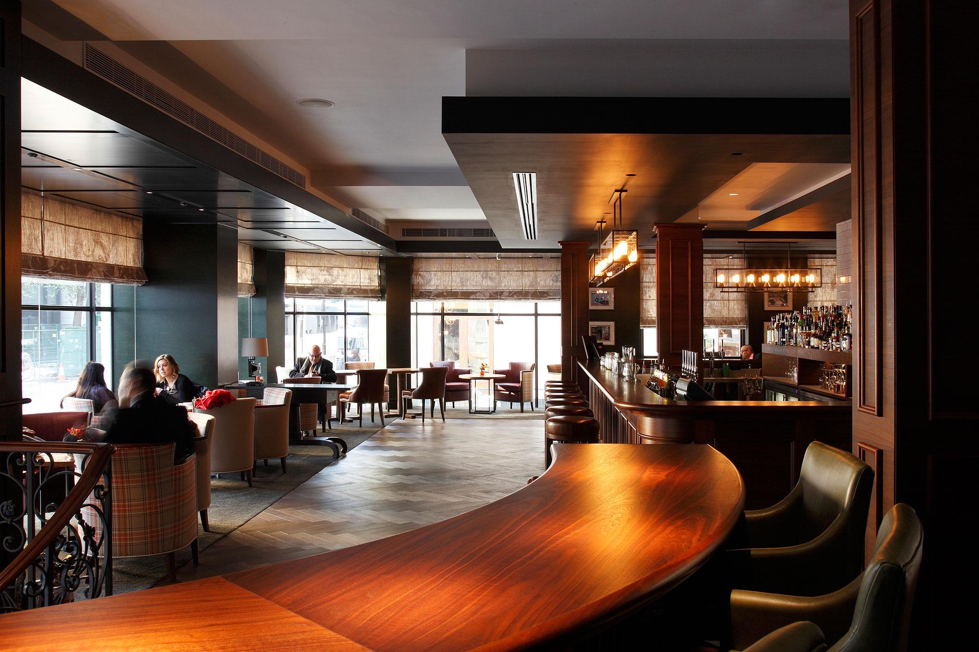 The bar at the Conrad London St James