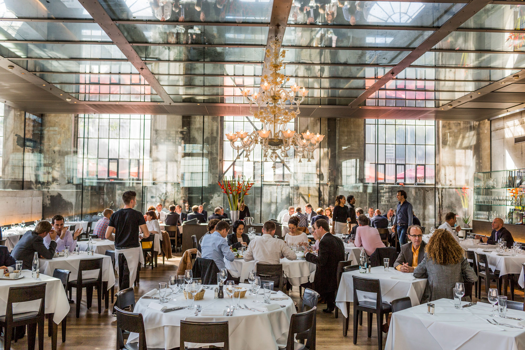 Zurich's restaurant scene is just as diverse as the city itself