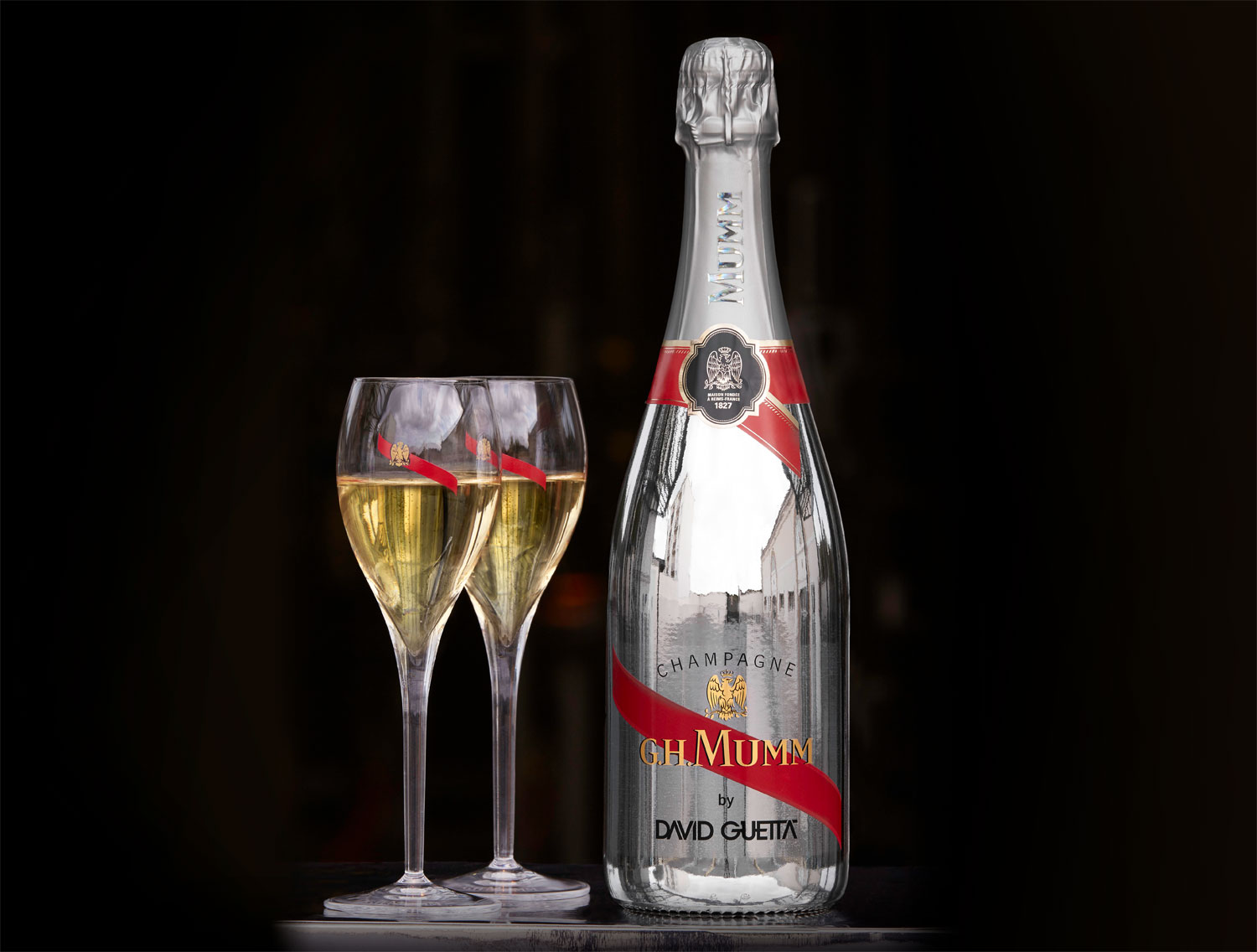 Maison Mumm and David Guetta: when the icon of celebration invites the icon of the night for a unique collaboration