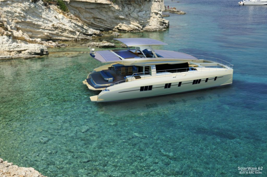 The Solarwave 62' - The first real zero emission luxury yacht