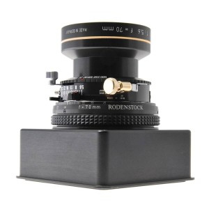 35mm Rodenstock Alpar used with the Phase One A-Series Camera