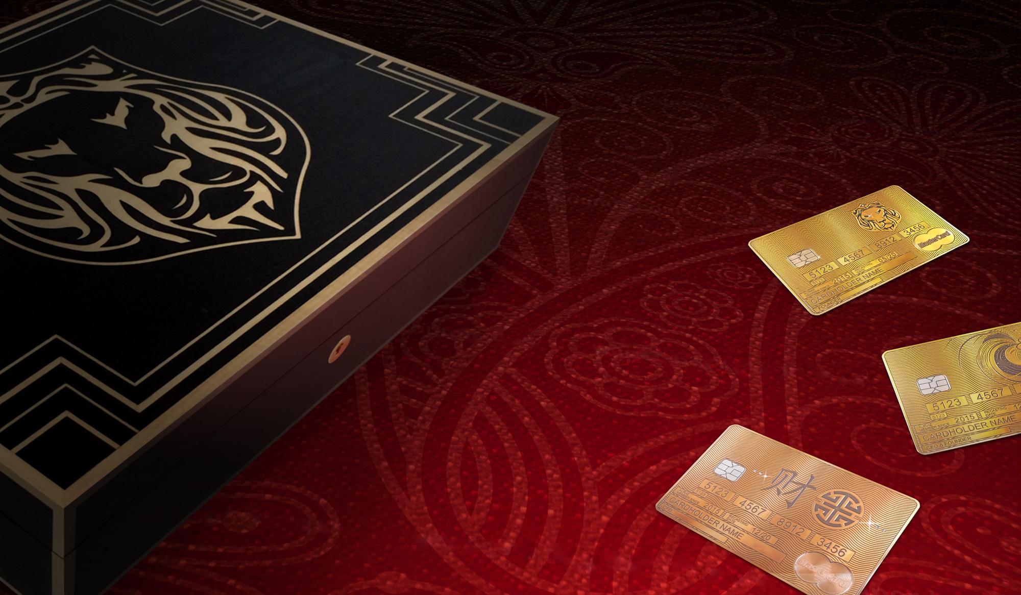 The Aurae Lifestyle gold MasterCard