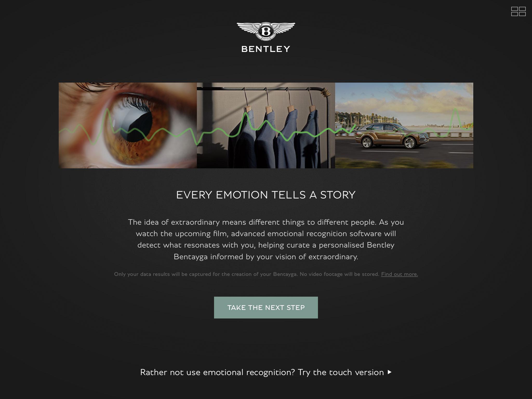 The Bentley Inspirator App