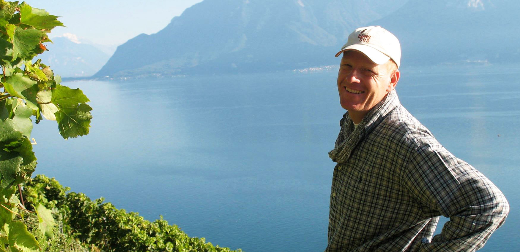 Organic winegrower, Blaise Duboux
