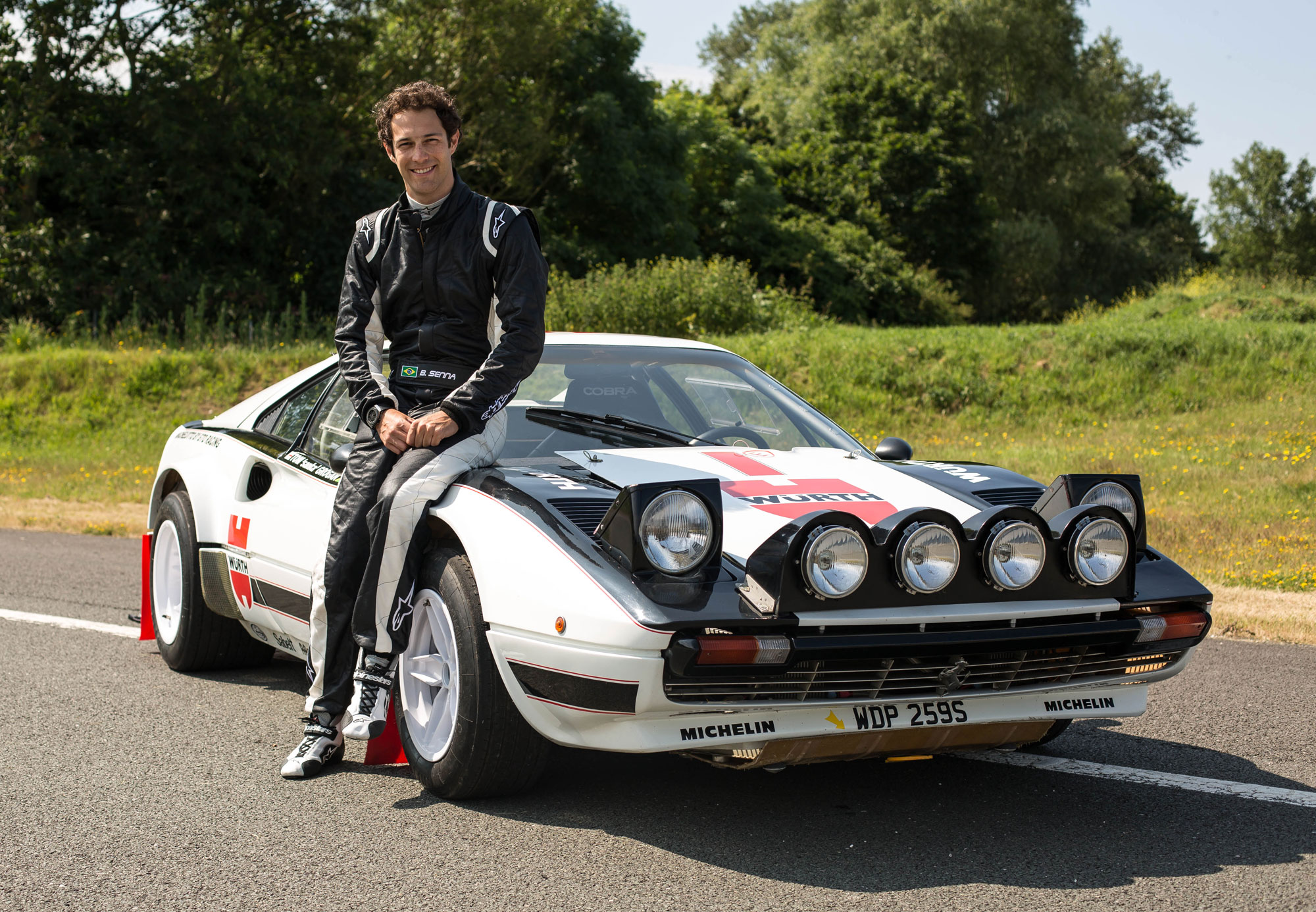 Bruno Senna on the Classic Car Show
